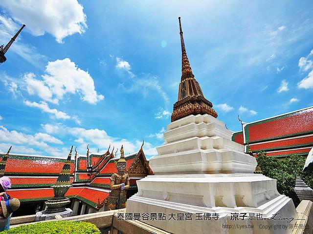 泰國曼谷景點 大皇宮 玉佛寺 18