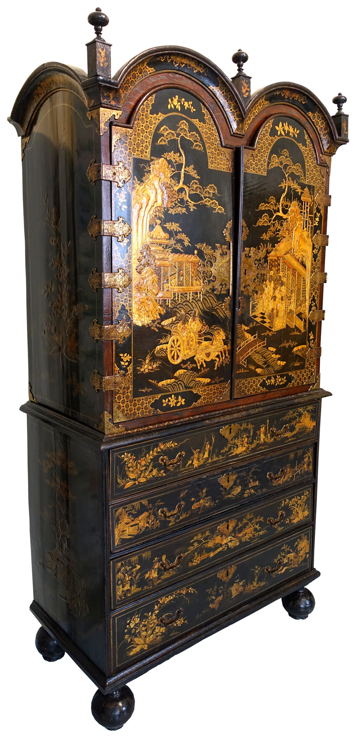 Chinoiserie cabinet. Museo Nacional de Artes Decorativas, Madrid, Spain. Credit Daderot.