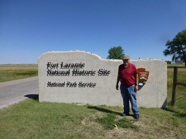 Ft. Laramie Entrance