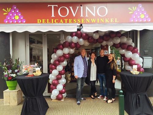 Ballonboog 6m Burgundy Wit Tovino Delicatessewinkel Vlaardingen