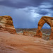 Delicate Arch Electricity by Casey Morris