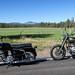 Sears Allstate & Royal Enfield Diesel, on the road in Oregon