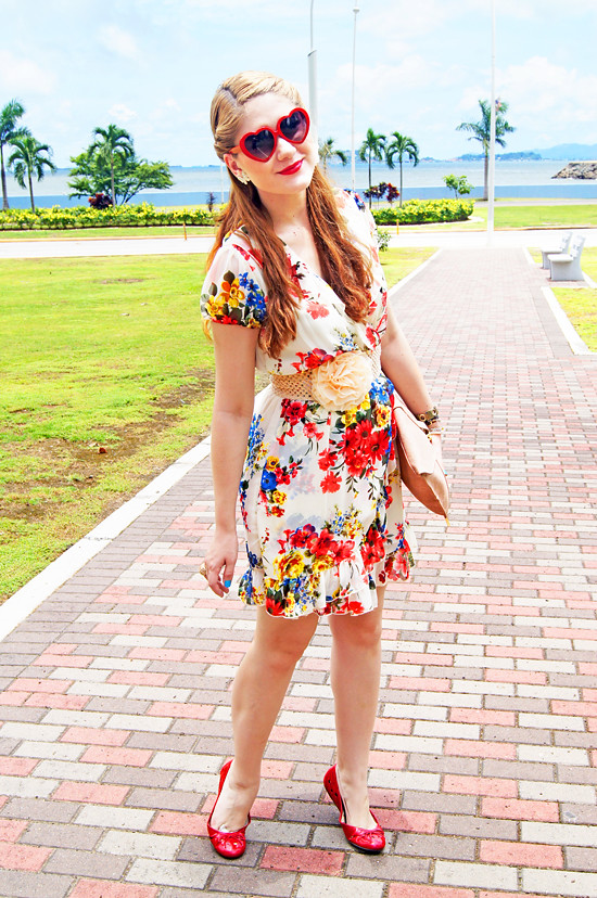 Floral dress by The Joy of Fashion (14)