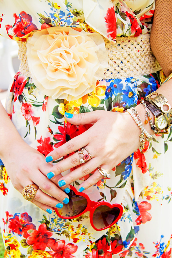 Floral dress by The Joy of Fashion (6)