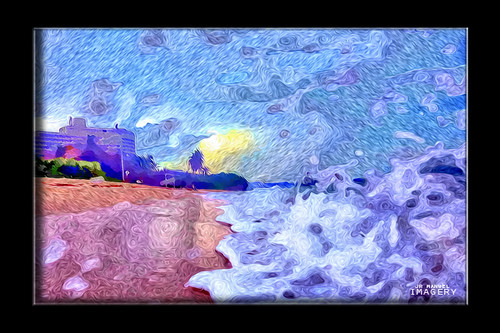 morning artistic guam tumon gunbeach pixelbender