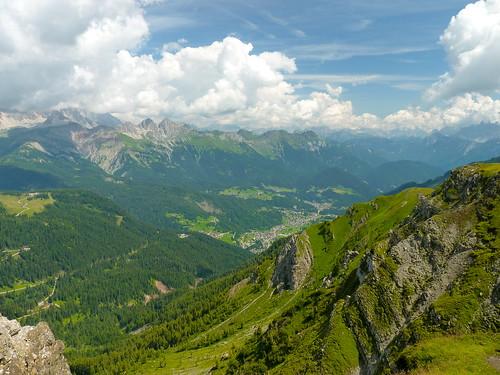Panorama verso Valle del Biois