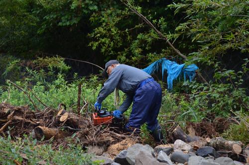 河川清掃ボランティア