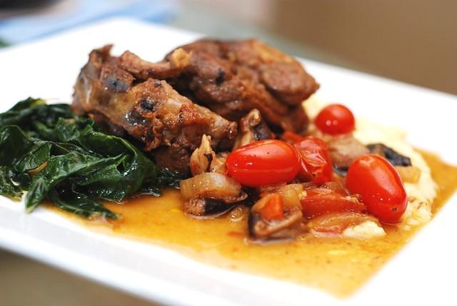 Lamb shoulder chops recipe