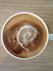 Today's latte, Debian.