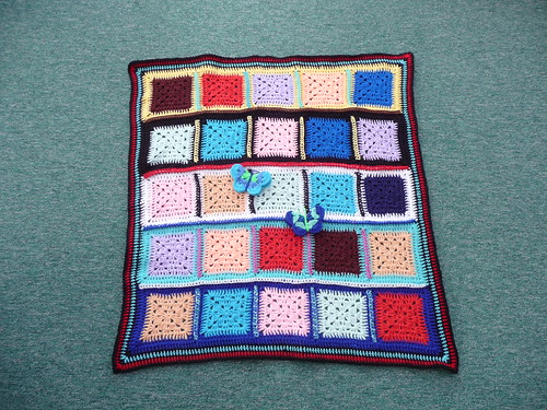 The Wool Stop has very kindly made and donated this wonderful blanket to 'SIBOL'. Thank you!