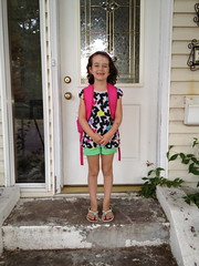 Lexi's First Day of First Grade