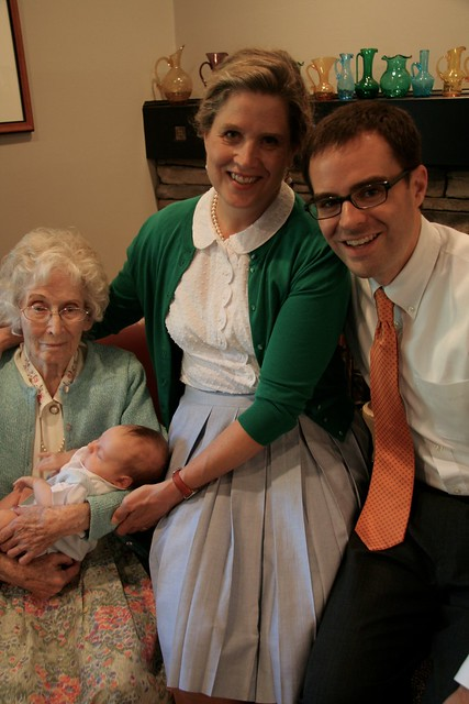 4 generations at blessing