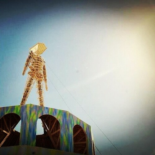 The Man #burningman2012 #latergram