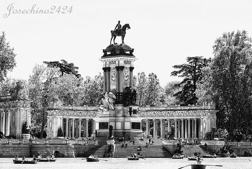 Lago del Retiro- Madrid