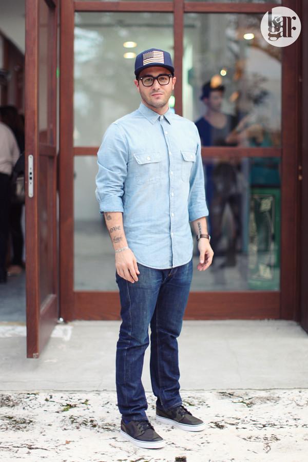 Men 39 S Street Style Fno Miami Window On The Fashion