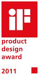 WT 3000 pallettrucks van Crown hebben de iF Product Design Award 2011 gewonnen