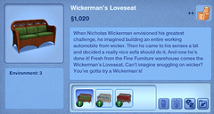 Wickerman's Love Seat