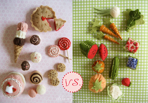 sweet vs healthy