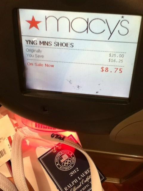 Ralph Lauren flip flops $8.75