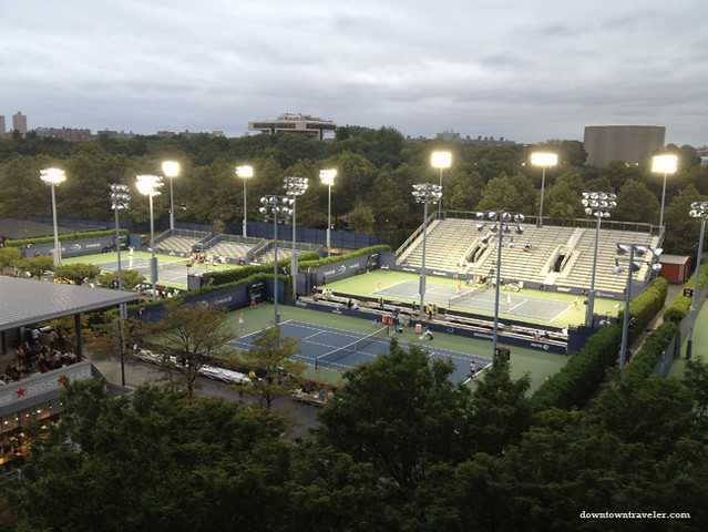 US Open Tennis 2012_Courts
