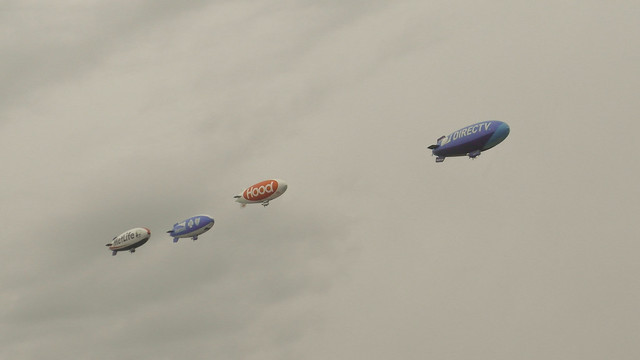 A Parade, Of Blimps
