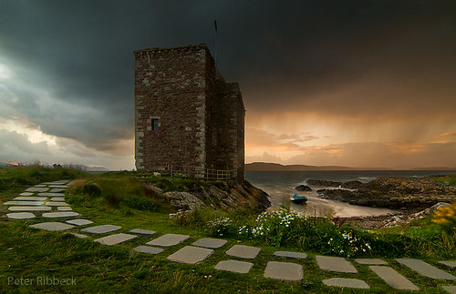 Portencross Castle 11-9-12