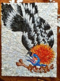 Vulture Mosaic