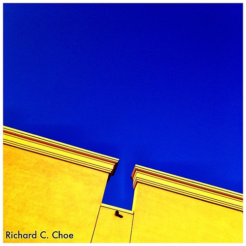 Blue & Yellow by rchoephoto