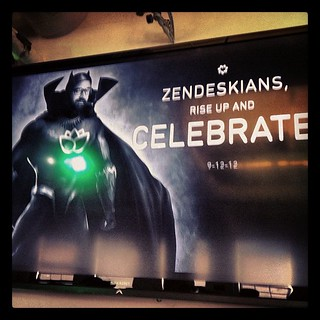 We are on top of the world today after a stellar launch of the new Zendesk!