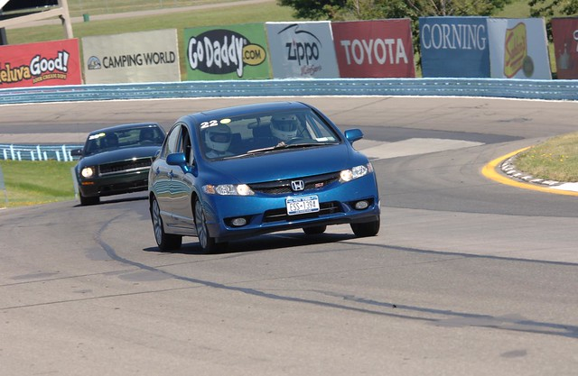 09' Honda Civic Si @ Watkins Glen International