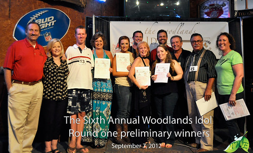 the woodlands idol first preliminary winners for 2013