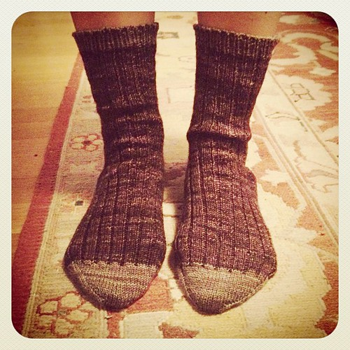 More socks. Finished. by elletrain