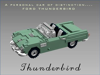 Ford Thunderbird - 1955
