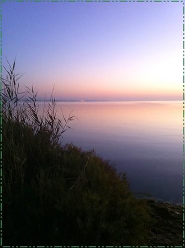 Amanecer en el Mar Menor
