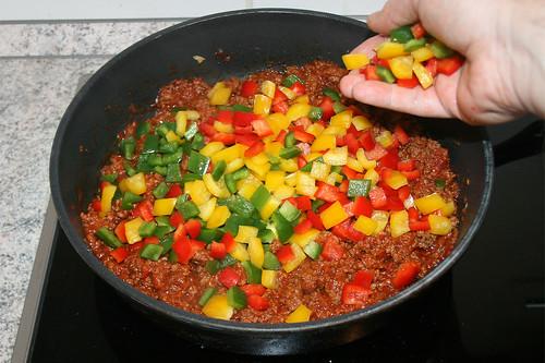 30 - Paprika hinzufügen / Add bell pepper