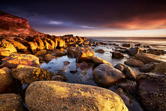 Light On The Rocks, Saltwick Bay