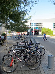 Olympic Vilage Bike Parking