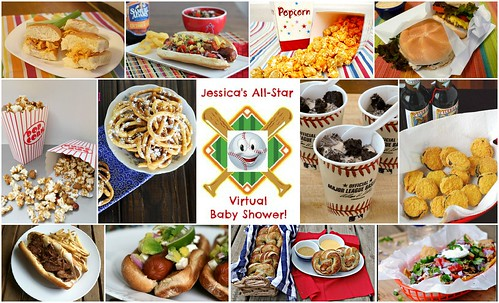 Whats Cookin Chicago Jessicas AllStar Virtual Baby Shower