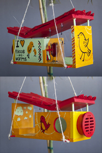 The Glue Factory Birdhouse