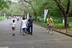 Cycling Ueno Park