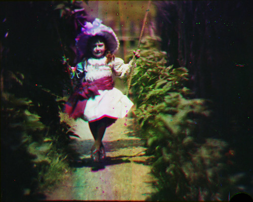Still from footage recorded by Edward Turner, 1902.