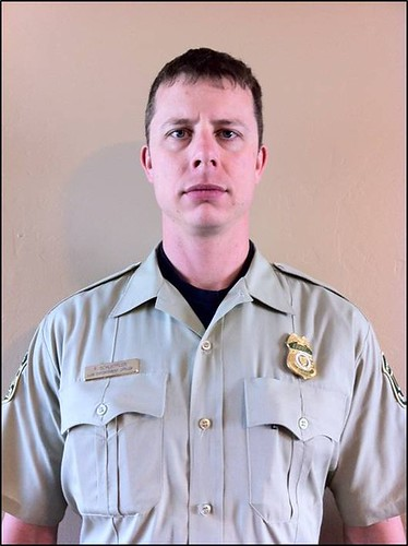 Forest Service Officer James Schoeffler