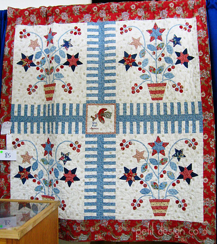 TN State Fair quilts - Americana Baskets