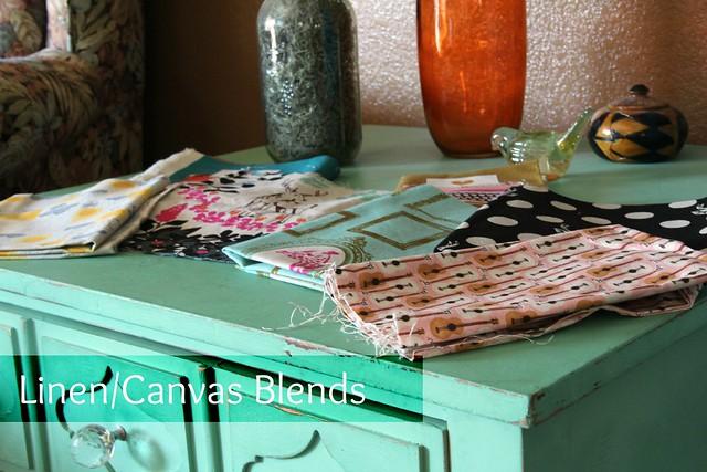 Linen/Canvas Blend