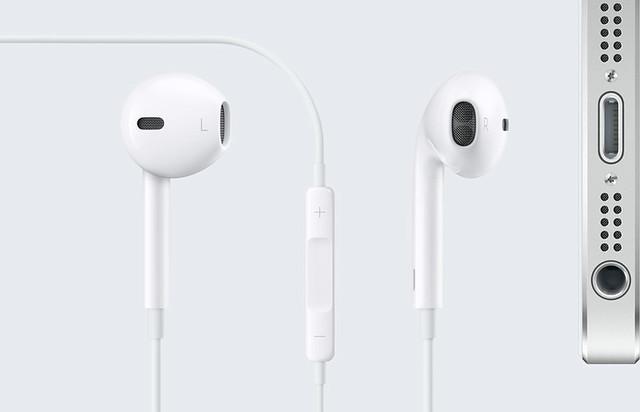 iPhone 5 y earpods