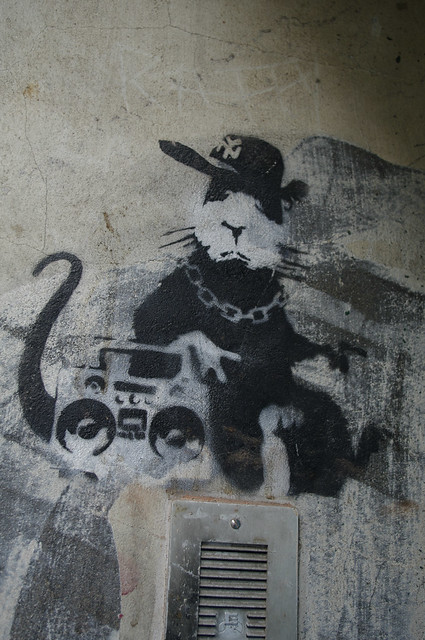Banksy - Gangsta Rat