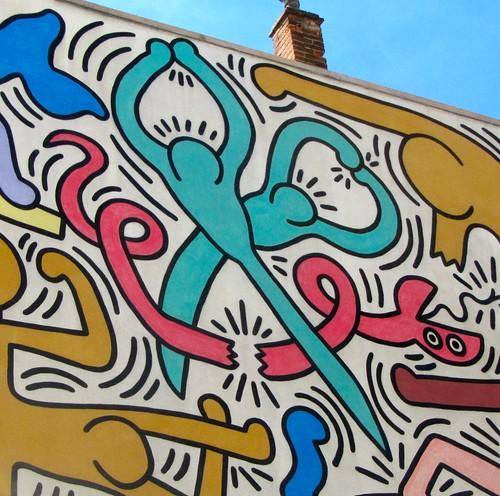 Tuttomondo: il murales di Keith Haring a Pisa