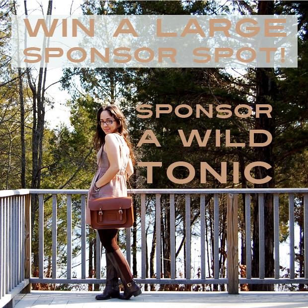 Win a Sponsor Spot!