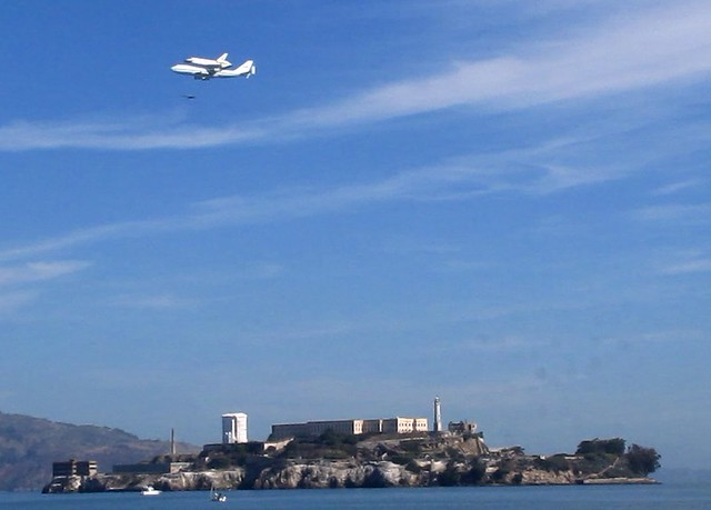 endeavor.over.alcatraz