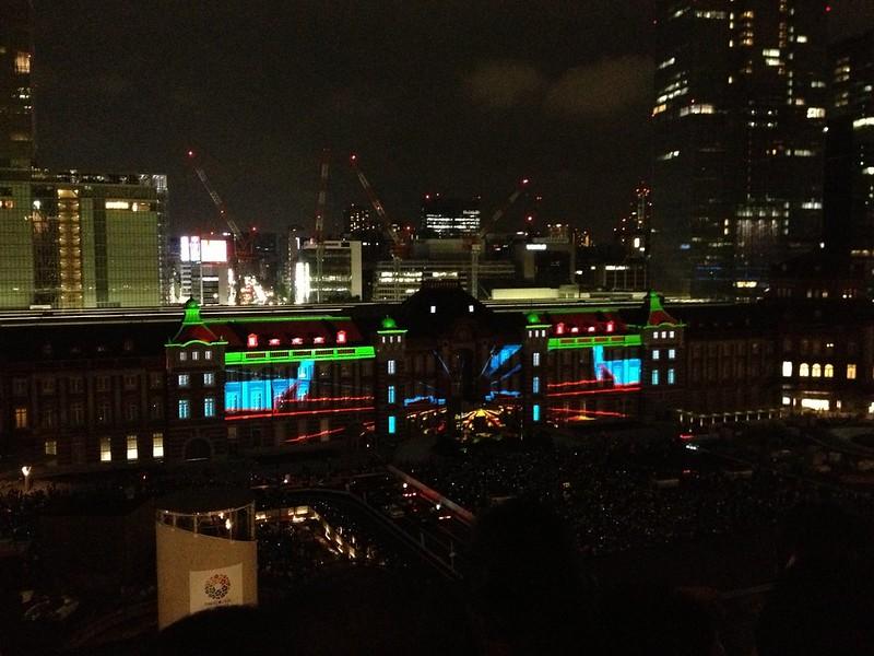 TOKYO STATION VISION 東京駅プロジェクションマッピング